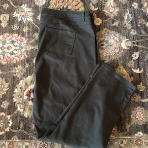 Olive Avenue Stretch Plus Size Straight Jeans